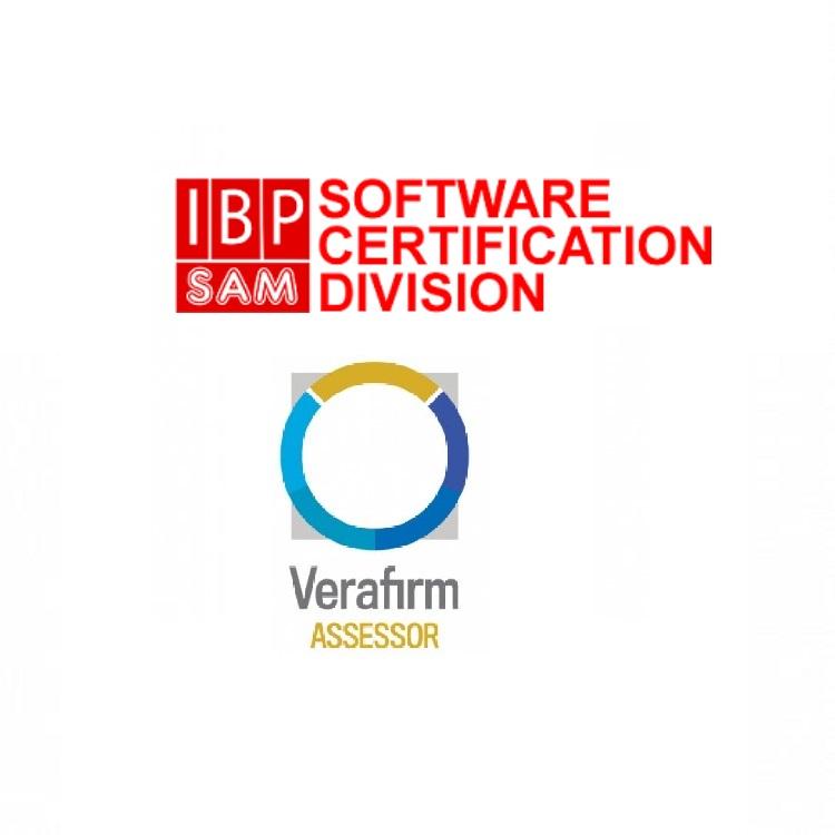 O IBP é a primeira empresa no Brasil e a quarta no mundo auditora Verafirm em gestão de software